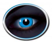 lentilles uv, lentilles fluo, lentilles bleues, lentilles halloween, lentilles fantaisie, lentilles déguisement, lentilles déguisement halloween, lentilles de couleur, lentilles fete, lentilles de contact déguisement, lentilles bleues fluos Lentilles Fluos, Bleues