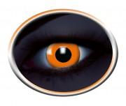 lentilles uv, lentilles fluos, lentilles halloween, lentilles fantaisie, lentilles déguisement, lentilles déguisement halloween, lentilles de couleur, lentilles fete, lentilles de contact déguisement, lentilles oranges fluos Lentilles Fluos, Oranges
