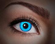 lentilles uv, lentilles fluo, lentilles bleues, lentilles halloween, lentilles fantaisie, lentilles déguisement, lentilles déguisement halloween, lentilles de couleur, lentilles fete, lentilles de contact déguisement, lentilles bleues fluos Lentilles Fluos Bleues, Blue Diamond