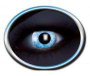 lentilles fluo, lentilles uv, lentilles bleues, lentilles halloween, lentilles fantaisie, lentilles déguisement, lentilles déguisement halloween, lentilles de couleur, lentilles fete, lentilles de contact déguisement, lentilles fluos halloween Lentilles Fluos Bleues, Blue Diamond
