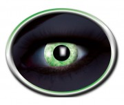 lentilles fluo, lentilles uv, lentilles halloween, lentilles fantaisie, lentilles déguisement, lentilles déguisement halloween, lentilles de couleur, lentilles fete, lentilles de contact déguisement, lentilles vertes fluos Lentilles Fluos, Vertes, Green Diamond