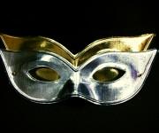 loup vénitien, masque vénitien, loup carnaval de venise, accessoire masque carnaval, masque vénitien pas cher, masque de carnaval, loups carnaval de venise Loup Arcobalneo, Or ou Argent