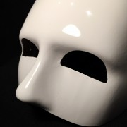 masque vénitien, loup vénitien, loup make up blanc Loup Doge Make Up, Blanc
