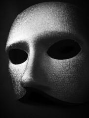 masque vénitien, loup doge, masque vénitien argent Loup Doge, Argent