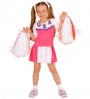 déguisement pompom girl enfant, déguisement de cheerleader fille, déguisements filles, déguisements enfants Déguisement de Pom Pom Girl Pink, Fille