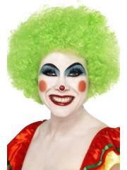 perruques paris, perruques femmes, perruques pas cherperruque de clown verte, perruque afro verte Perruque de Clown Verte