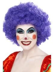 perruque de clown violet, perruques paris, perruques femmes, perruques pas cher Perruque de Clown Violette