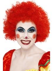 perruques paris, perruques femmes, perruques pas cherperruque de clown rouge, perruque afro rouge Perruque de Clown Rouge