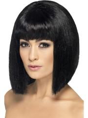 perruque femme, perruque pas cher paris, perruque noire, perruque carré noir, perruque femme, perruques paris Perruque Coquette, Noire