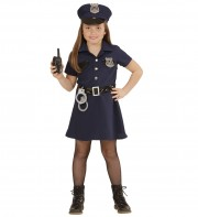 déguisement de policière enfant, déguisement filles, déguisements enfants, déguisement police fille, déguisement carnaval fille Déguisement de Policière, Fille
