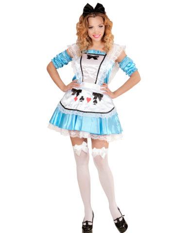 déguisement alice, déguisement alice au pays des merveilles, costume alice, déguisement dessin animé, costume d'Alice, déguisement alice femme Déguisement Alice Wonderland Sexy