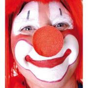 nez de clown en mousse, nez de clown, accessoire clown déguisement, accessoire déguisement de clown, faux nez de clown déguisement Nez de Clown, Mousse