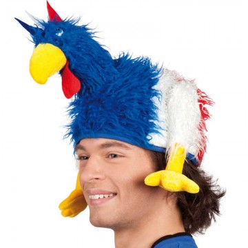 chapeau coq, chapeaux france, accessoires euro 2016, accessoires de supporter france, boutique supporter, chapeau coq france, tricolore Chapeau Coq, Supporter France Tricolore