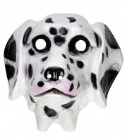 masque d'animal, masque de chien, masque de dalmatien, masque de déguisement, masque animaux, accessoire déguisement animaux, masque d'animal déguisement, masques d'animaux déguisement, se déguiser en animal Masque de Dalmatien