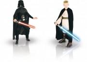 déguisements duos, déguisements enfants, déguisements super héros enfants, star wars Dark Vador et Jedi