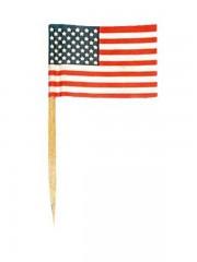 pics à apéro drapeau des Etats Unis, pics drapeaux américains, pics à apéro USA Pics Drapeau Américain