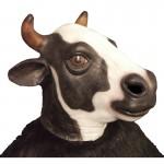 masque vache,masque de déguisement, masque animaux, accessoire déguisement animaux, masque d'animal déguisement, masques d'animaux déguisement, se déguiser en animal Masque de Vache, Latex