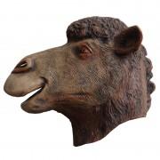masque chameau, masque dromadaire, masque de déguisement, masque animaux, accessoire déguisement animaux, masque d'animal déguisement, masques d'animaux déguisement, se déguiser en animal Masque de Chameau, Latex