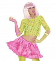 tutu déguisement pour femme, tutu rose, jupon rose, jupon femme, tutu femme déguisement, déguisement tutu, accessoire tutu déguisement, accessoire déguisement tutu rose fluo, tutu rose fluo Tutu Jupon, Années 80, Rose