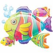 ballon hélium, ballon géant, ballon poisson, ballon animaux Ballon Aluminium, Poissons des Tropiques