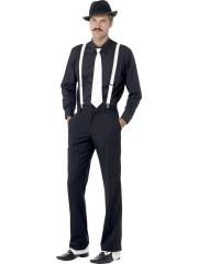déguisement années 30, déguisement gangster, accessoires de gangster, accessoires années 30 déguisement Kit d'Accessoires de Gangster, Années 30