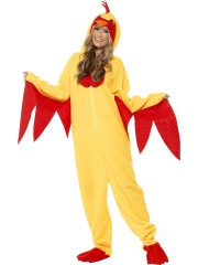 déguisement de poulet femme, déguisement d'animaux, déguisement humour adulte, costume de poulet femme, costume poulet femme Déguisement de Poulette, Combinaison