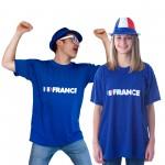 accessoires euro 2016, accessoires supporter equipe de france, accessoire euro 2016, Tshirt france, boutique supporter, drapeau france, drapeaux france, tricolore Tshirt France