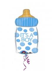 ballon hélium, ballon de naissance, ballon garçon, ballon baby shower, ballon bébé garçon Ballon Aluminium, Naissance, Biberon It's a Boy