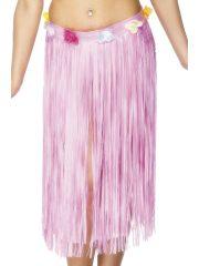 jupe hawaïenne, accessoire hawaïen, déguisement hawaïen, accessoire déguisement hawaï, jupe hawaï, jupe raphia hawaï, Jupe Hawaïenne, Longue, Rose