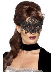 masque vénitien, loup vénitien, masque en dentelle, loup noir en dentelle, masque vénitien déguisement, déguisement vénitien masque, loup vénitien déguisement femme, déguisement vénitien, masque pour soirée vénitienne, masque carnaval de venise paris Loup Dentelle, Noir