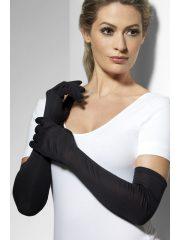 gants noirs longs, gants longs noirs, gants femme déguisement, gants coton longs, gants années 20, années 30, gants charleston, gants noirs Gants Longs, Noirs
