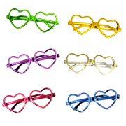 lunettes de déguisement, lunettes de fêtes, lunettes soirée déguisée, accessoires lunettes,lunettes fantaisie, lunettes pas chères, lunettes en forme de coeur, lunettes coeurs Lunettes Coeurs, Sans Verres
