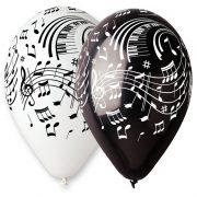 ballons notes de musique, ballon déco musique, ballon hélium, ballons de baudruche Ballon en Latex, Notes de Musique