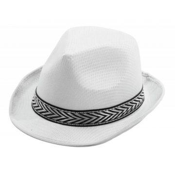 chapeau, borsalino, chapeaux borsalino, accessoires chapeaux, chapeaux paris, chapeaux forme année 30 Chapeau Borsalino Teddy, Blanc