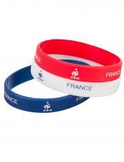 accessoire de supporter france, bracelets france, euro 2016, accessoires euros 2016, accessoires pour supporter france Bracelets de Supporter France, FFF, x 3