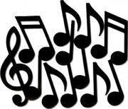 déco musique, décorations, notes de musique Décoration Musique, Notes Géantes