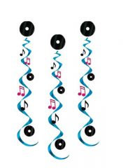 déco musique, décorations musique, décorations notes de musique Décoration Musique, Suspensions 75 cm