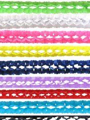 guirlandes en papier, guirlandes colorées, guirlandes d'anniversaire Guirlande en Papier, Différents Coloris