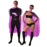 accessoire héros, accessoire de super héros, kit de super héros, cape de héros, accessoire déguisement héros, accessoire super héros déguisement Kit de Héros, Violet