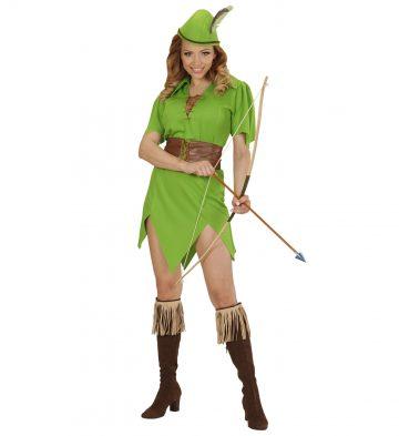 D guisement robine princesse des bois aux feux de la - Deguisement robin des bois fille ...