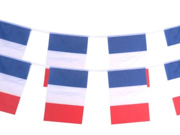 euro 2016, guirlande drapeaux euro 2016, guirlandes France, drapeaux euro 2016, drapeau france, drapeaux supporter, drapeaux français, fanions français Guirlande Drapeaux, France, Tissu