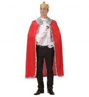 cape royale déguisement, cape de roi déguisement, cape de déguisement de roi, cape rouge déguisement royale, accessoire déguisement, accessoire déguisement de roi Cape de Roi, avec Couronne