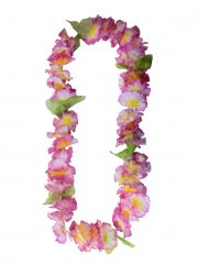 collier hawaïen, collier hawaï, collier de fleurs hawaïen, collier de fleurs hawaï, collier de fleurs hawaïen pas cher Collier de Fleurs Hawaïen, Rose et Parme
