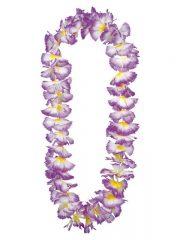 collier hawaïen, collier hawaï, collier de fleurs hawaïen, collier de fleurs hawaï, collier de fleurs hawaïen pas cher Collier de Fleurs Hawaïen, Violet Coeur Jaune