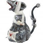 rat zombie halloween, décorations halloween, accessoire déco halloween, rat en plastique halloween, animaux halloween, faux rat halloween, déco halloween rat Rat Blessé, Zombie, Halloween