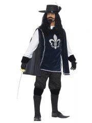 déguisement de mousquetaire, costume mousquetaire homme, tunique mousquetaire adulte, déguisement de mousquetaire Déguisement Mousquetaire, avec Accessoires