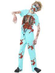 déguisement halloween enfant, déguisement enfant halloween, déguisement zombie enfant, costume halloween enfant, déguisement enfant diable, déguisement garçon halloween, déguisement halloween garçon, déguisement chirurgien zombie enfant, déguisement zombie garçon Déguisement Chirurgien Zombie, Garçon