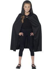 cape noir enfant, cape halloween enfant, cape pour enfant halloween, cape de vampire halloween, cape à capuche enfant, cape halloween enfant, cape noire capuche enfant Cape Noire à Capuche, Enfant