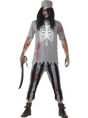 déguisement de pirate zombie, Déguisement de fantome pirate zombie, déguisement zombie halloween, déguisement homme halloween, déguisement halloween homme, déguisement halloween adulte Déguisement Pirate Zombie