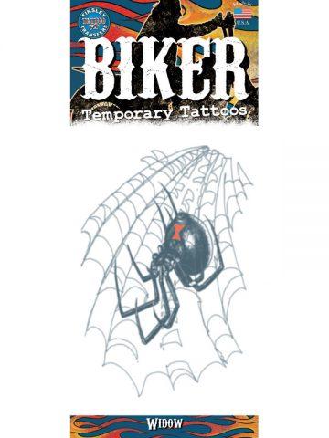 tatouage temporaire araign e veuve noire aux feux de la f te paris. Black Bedroom Furniture Sets. Home Design Ideas